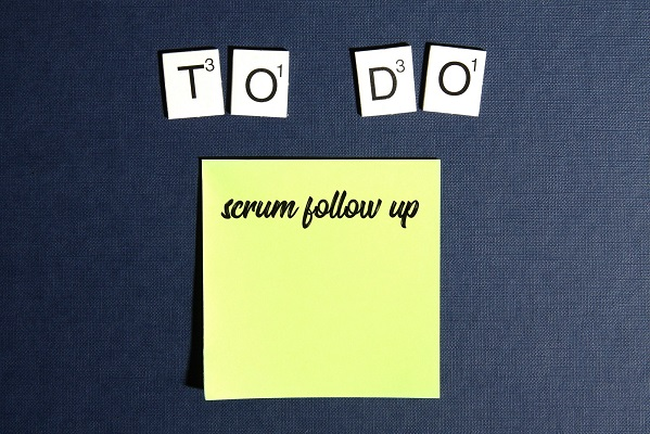 scrum follow up